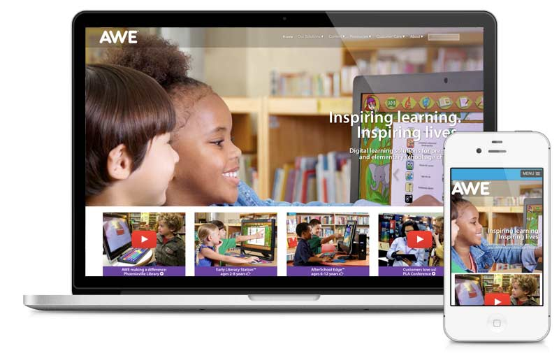 Awelearning.com built on Microsite platform.