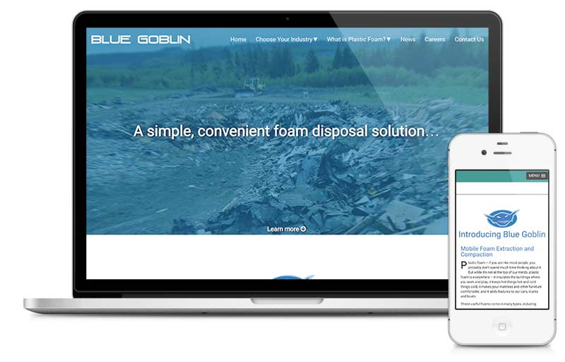 blue-goblin.com built on Microsite platform.