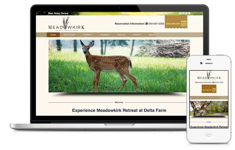 meadowkirk.org built on Microsite platform.